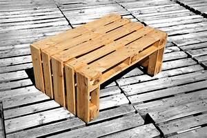 PALETTENMOEBEL 3 Der Tisch Pepi