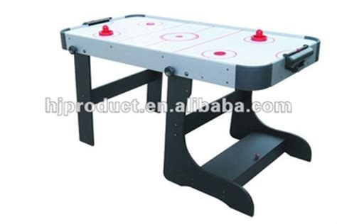 household high quality 4ft 5ft 6ft air hockey folding air hockey table buy folding air hockey