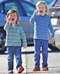 Amy Poehler's sons Archie and Abel act up by pulling silly ...
