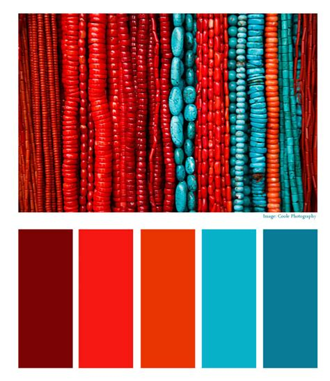 aztec colors aztec empire turquoise and coral