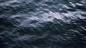 Water blue ocean minimalistic dark waves cold ripples ...