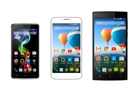 2015 android phones archos unveils smartphone lineup for mwc 2015 android