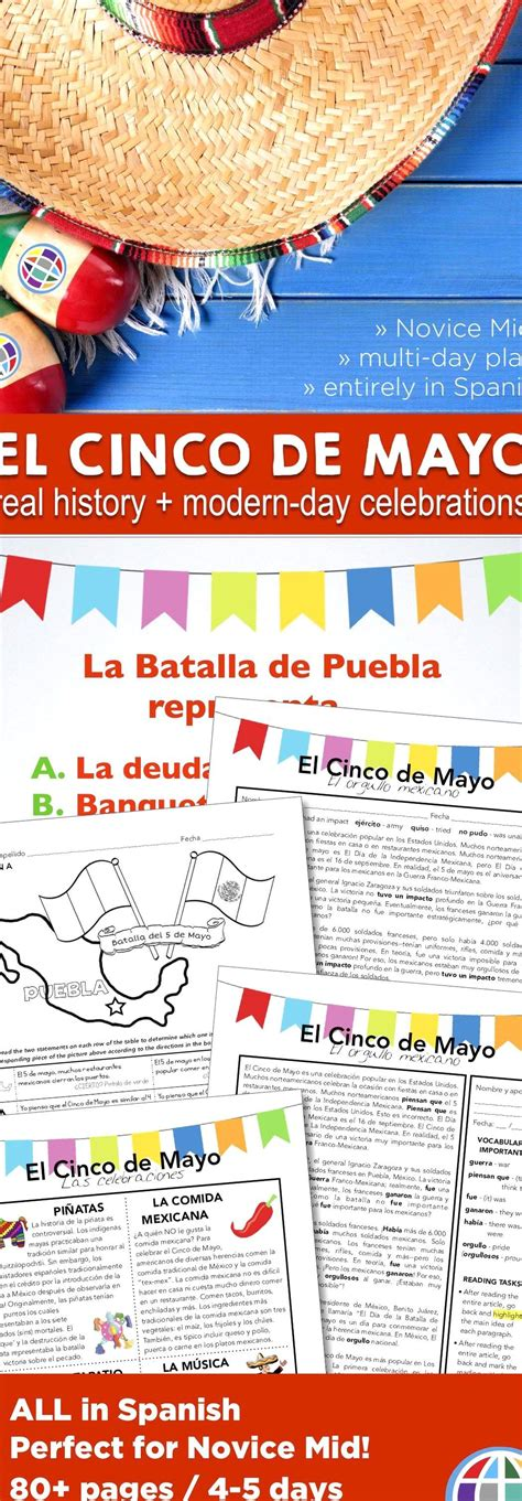 Teach your Spanish students about Cinco de Mayo -- the ...