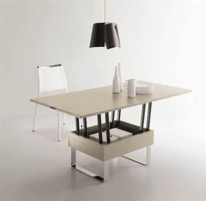 Table Basse Relevable Pas Cher : table basse relevable extensible pas cher ~ Teatrodelosmanantiales.com Idées de Décoration
