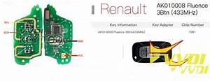 Vvdi Key Tool Renew Renault Fluence 3