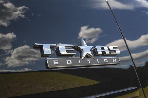 chevrolet tahoe  suburban texas edition gm
