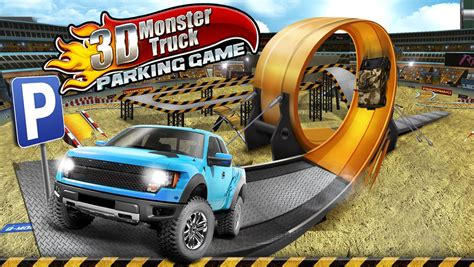 3d Monster Truck Parking Game  Android Apps On Google Play