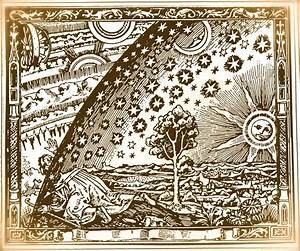 old Kabbalah engraving – looking through into Beriah ...