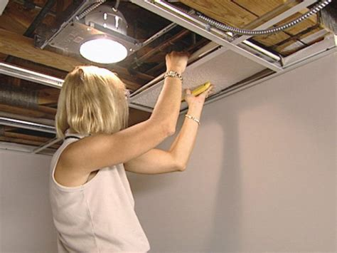 led garage fixtures how to install an acoustic drop ceiling how tos diy