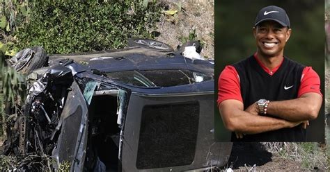 Golf star Tiger Woods hurt in LA-area crash, pulled from ...