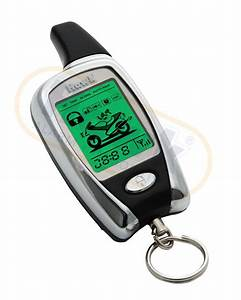 Hawk Lcd 2 Way Pager Motorcycle Motorbike Alarms