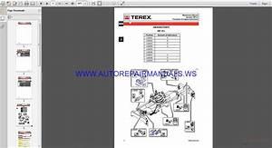 Fantuzzi Reggiane Terex T45s 502024 Operator  U0026 Maintenance Manual