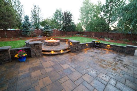 Landscape Backyard Design Ideas by Backyard Landscape Renovation Newport Ave Landscaping
