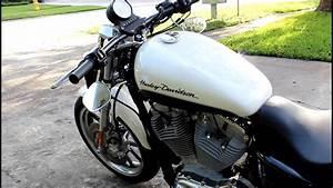 Harley Davidson Sportster 883 Stock Exhaust Vs  Vance