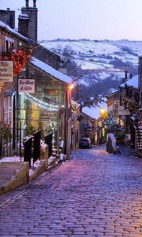 Haworth on Christmas Day, West Yorkshire (With images ...