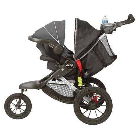 jeep baby jeep adventure jogging stroller jet black baby ideas