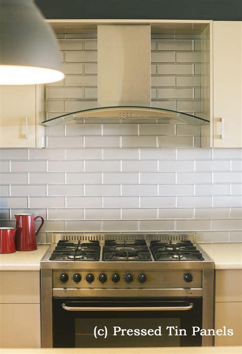 brick kitchen mercury silver splash
