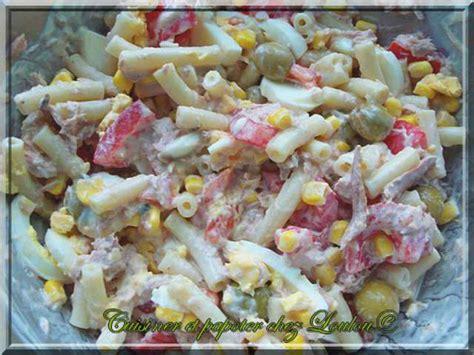 recette salade de pate au thon les meilleures recettes de salade de p 226 tes 3