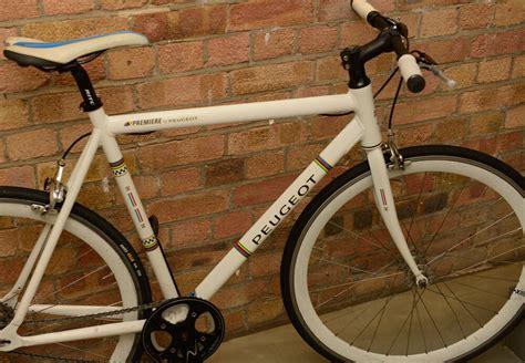 Peugeot Fixed Gear by Peugeot Premiere Single Speed Fixed Gear Bike In Stoke