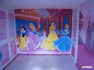 Deco Chambre Fille Princesse : decoration chambre fille princesse disney visuel 8 ~ Teatrodelosmanantiales.com Idées de Décoration