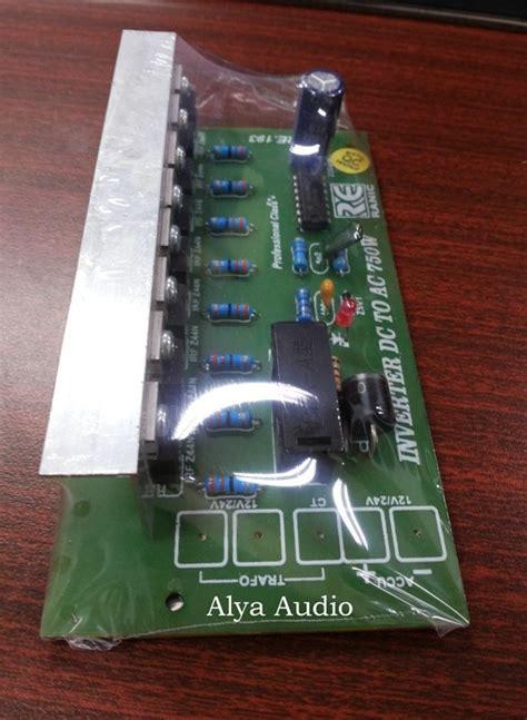 jual kit inverter dc to ac 750w dc 12v 24v to ac 220v t881 di lapak alya audio elektronik