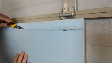 insulating garage door 187 how to insulate a garage door ep30