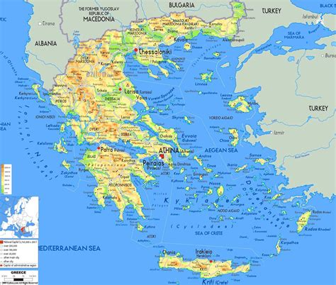 map  greek islands google search   greece