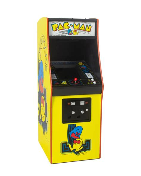 Official Pac Man Quarter Size Arcade Cabinet Geek Store