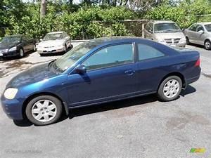 Honda Civic 2002 : 2002 eternal blue pearl honda civic ex coupe 29724045 car color galleries ~ Dallasstarsshop.com Idées de Décoration