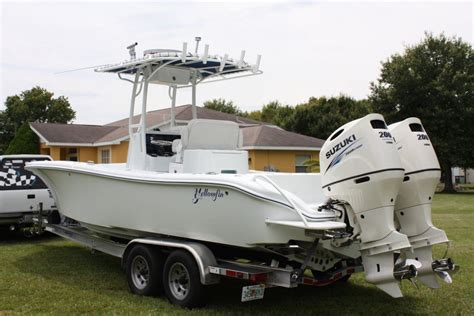 Scout Boats Vs Everglades Boats by Won The Lottery Boat 2016 Yellowfin 26 Hybrid For Sale