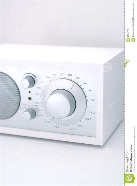 modern radio set with retro design royalty free stock image image 4304226