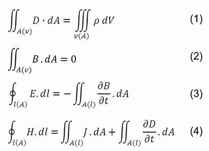 Equations Maxwell Electromagnetism Equation Engineering Law Power