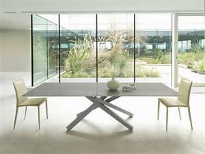 Esszimmer Glastisch Ausziehbar : pechino table extensible by midj design studiokappa ~ Frokenaadalensverden.com Haus und Dekorationen