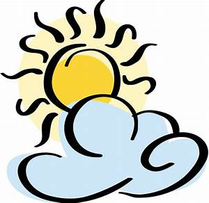 Partly Sunny Clipart - Clipart Suggest