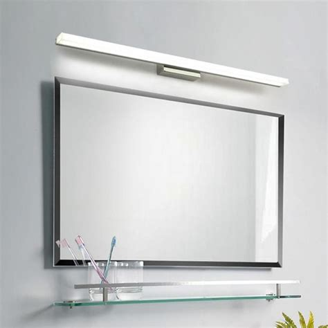 7w 40cm wall light mirror front led lighting bathroom