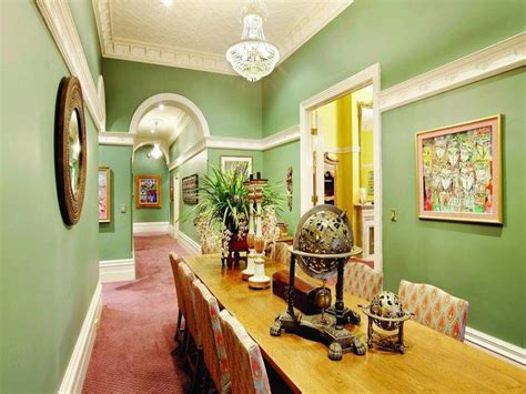victorian color schemes interior