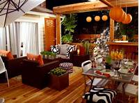 trending patio table decor ideas Orange Home Decor and Decorating with Orange | HGTV