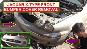 Jaguar X-type Front Bumper Cover Removal And Replacement  How To Remove The Front Bumper