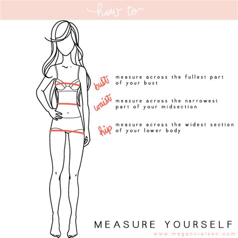 How To Measure Yourself  Megan Nielsen Design Diary