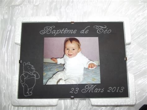 cadre photo bebe personnalise cadre photo grav 233 naissance b 233 b 233 ou bapt 232 me val creation val creation beuvry la for 234 t