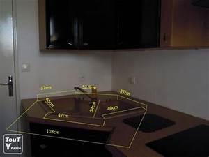 Cuisine D Angle : evier d 39 angle pour meuble de cuisine haute normandie ~ Teatrodelosmanantiales.com Idées de Décoration