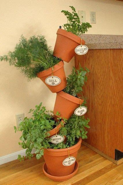 Indoor Herb Garden Pot Planters Ideas by 25 Best Ideas About Indoor Herb Planters On