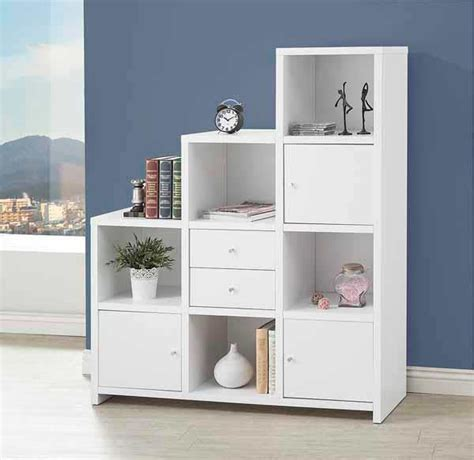 Cube Bookcase White by White Cube Storage Bookshelf Co 169 Office Bookcases And