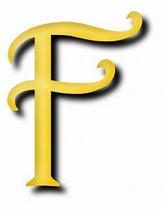 Letter F vector clipart image - Free stock photo - Public ...