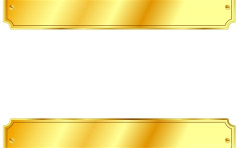 3d Border Backgrounds by Gold Metal Sign Backgrounds 3d Border Frames White