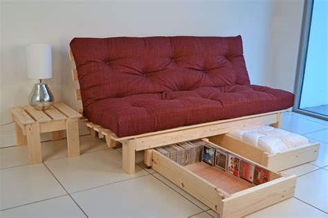 Futon With Storage Underneath
