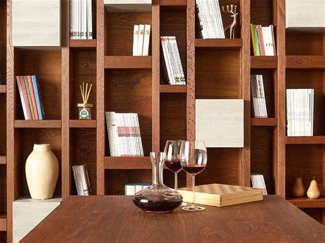 piccole librerie in legno libreria a parete in legno disegnodilegno libreria