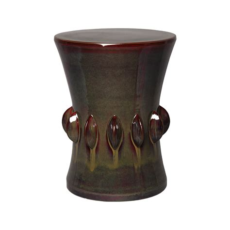 outdoor ceramic garden stool many colors