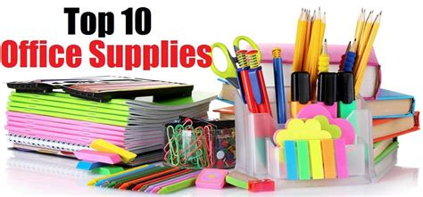 Top 10 Office Supplies And Their Uses  Trends Buzzer