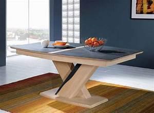 table tonneau pied central ceram vazard With tapis yoga avec canapé relax monsieur meuble